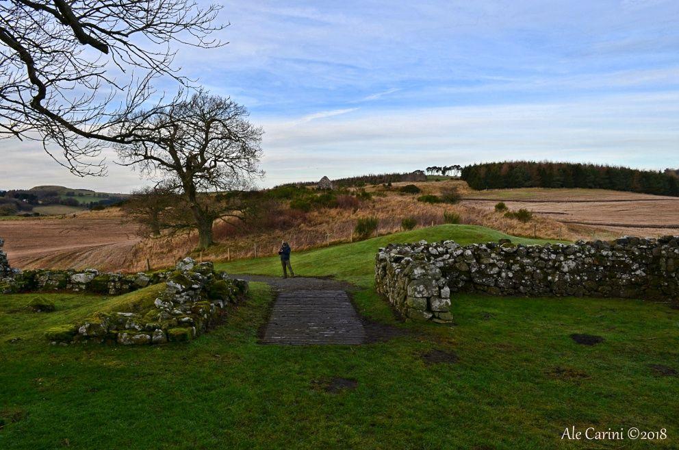 balvaird castle, ingresso