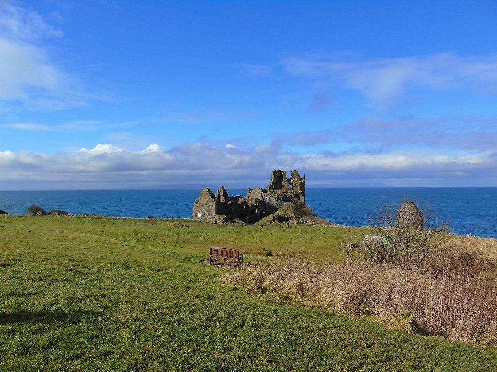 Dunure (Ayrshire) - castello e Labirinto