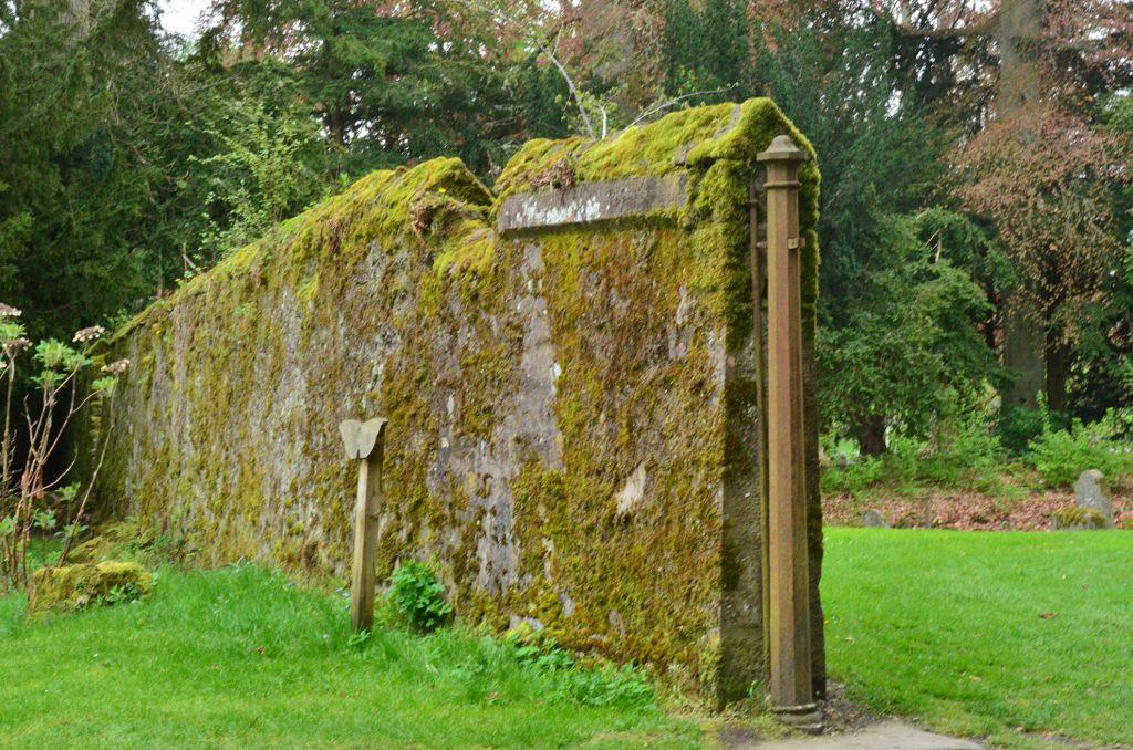 antico cimitero di scone