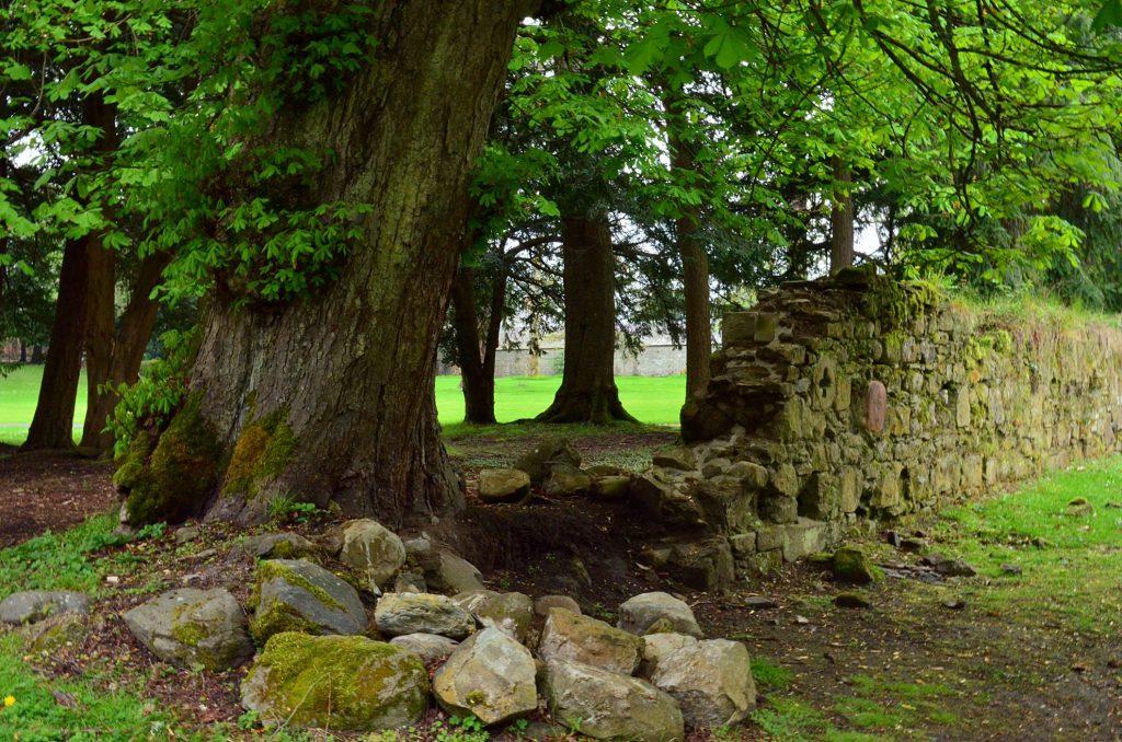 resti della vecchia cappella di scone