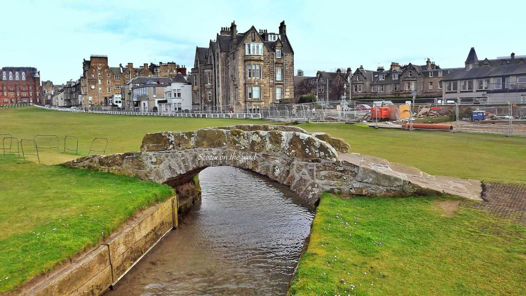 saint andrews old course - da St Andrews a Newport on Tay
