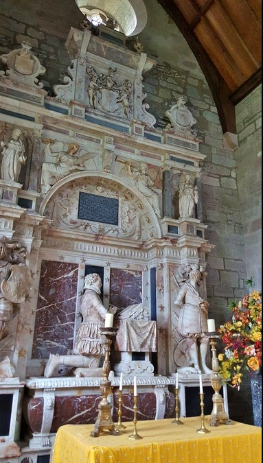 abbey scone - monumento a David Murray