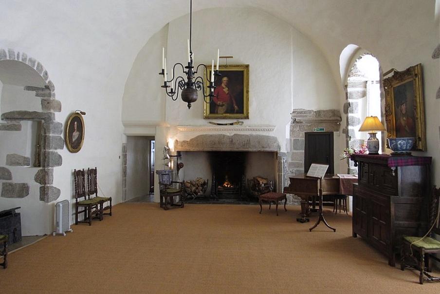 castle fraser - the great hall - aberdeenshire - castelli scozia