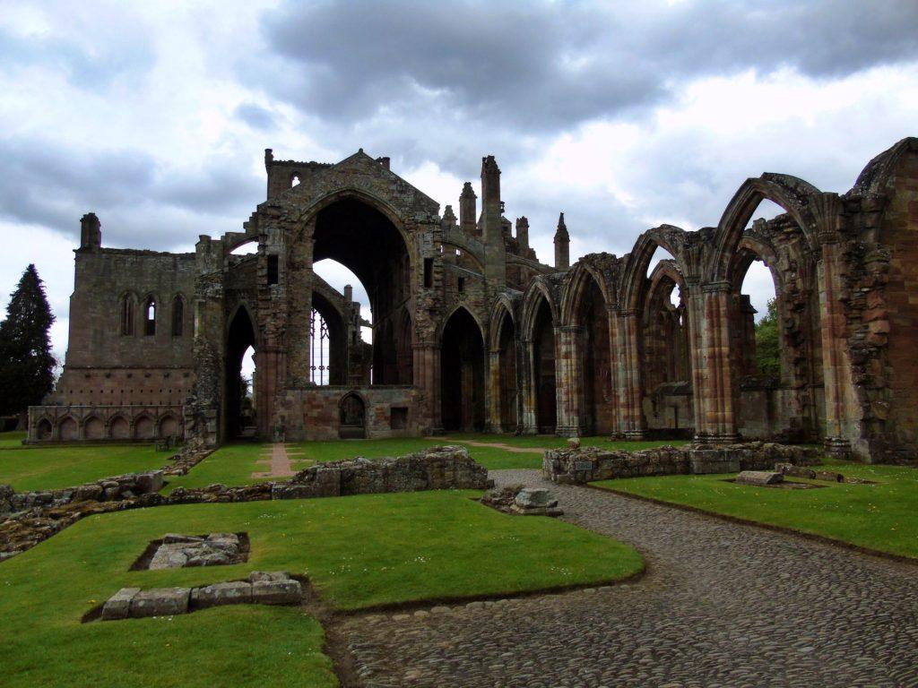 melrose abbey scozia