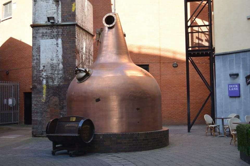 visitare old jameson distillery - distilleria jameson dublino