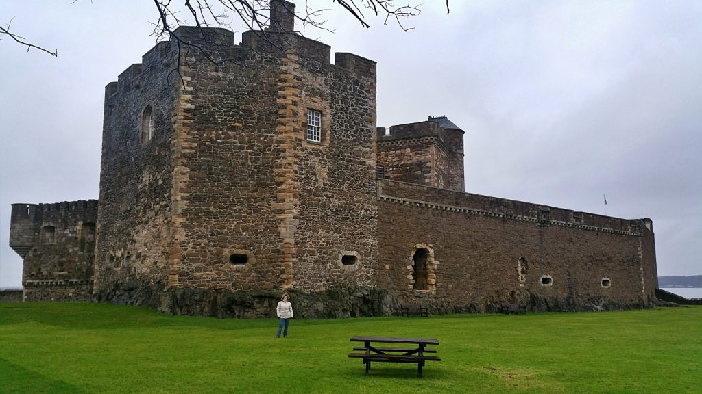 blackness castle e outlander