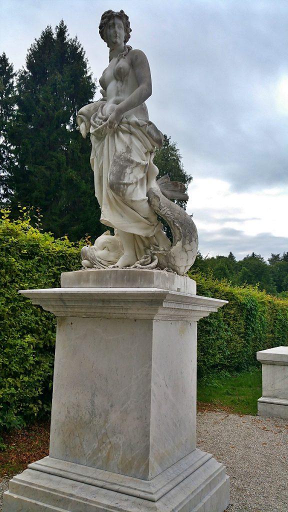 statue del giardino
