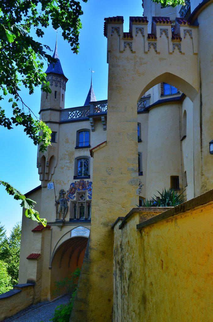 castelli schwangau - castello baviera  Hohenschwangau