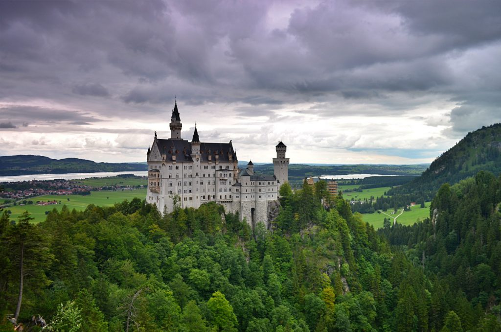 Neuschwanstein e Hohenschwangau - castello disney