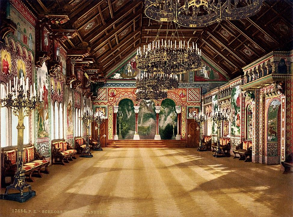 castello Neuschwanstein interni