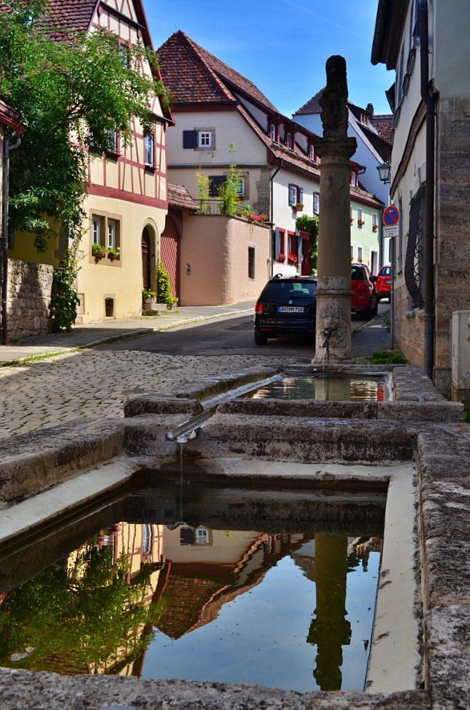 Rothenburg, fontana