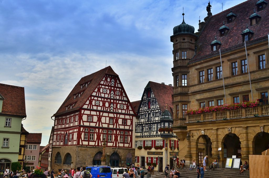 visitare la baviera - strada romantica - Rothenburg ob der Tauber