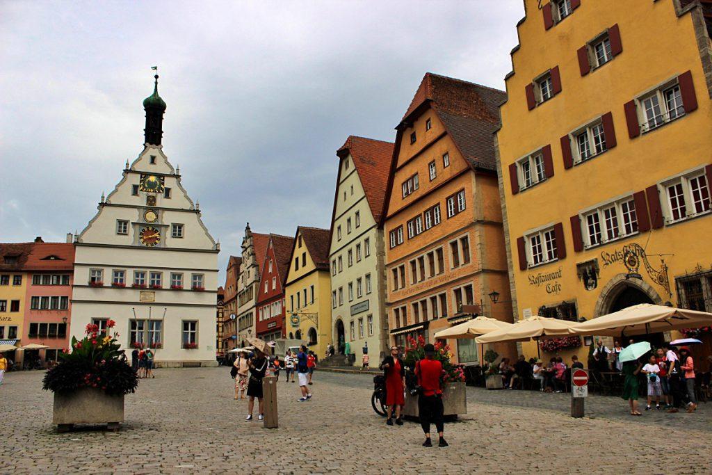 Rothenburg - strada romantica baviera
