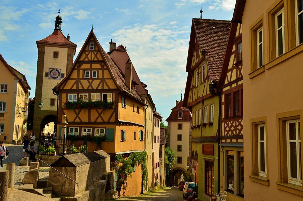 Plonlein - Rothenburg cosa vedere - strada romantica baviera