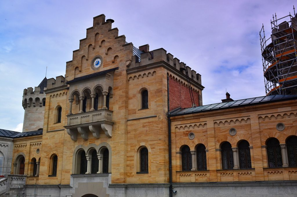 il castello di Neuschwanstein - castelli schwangau - castello disney
