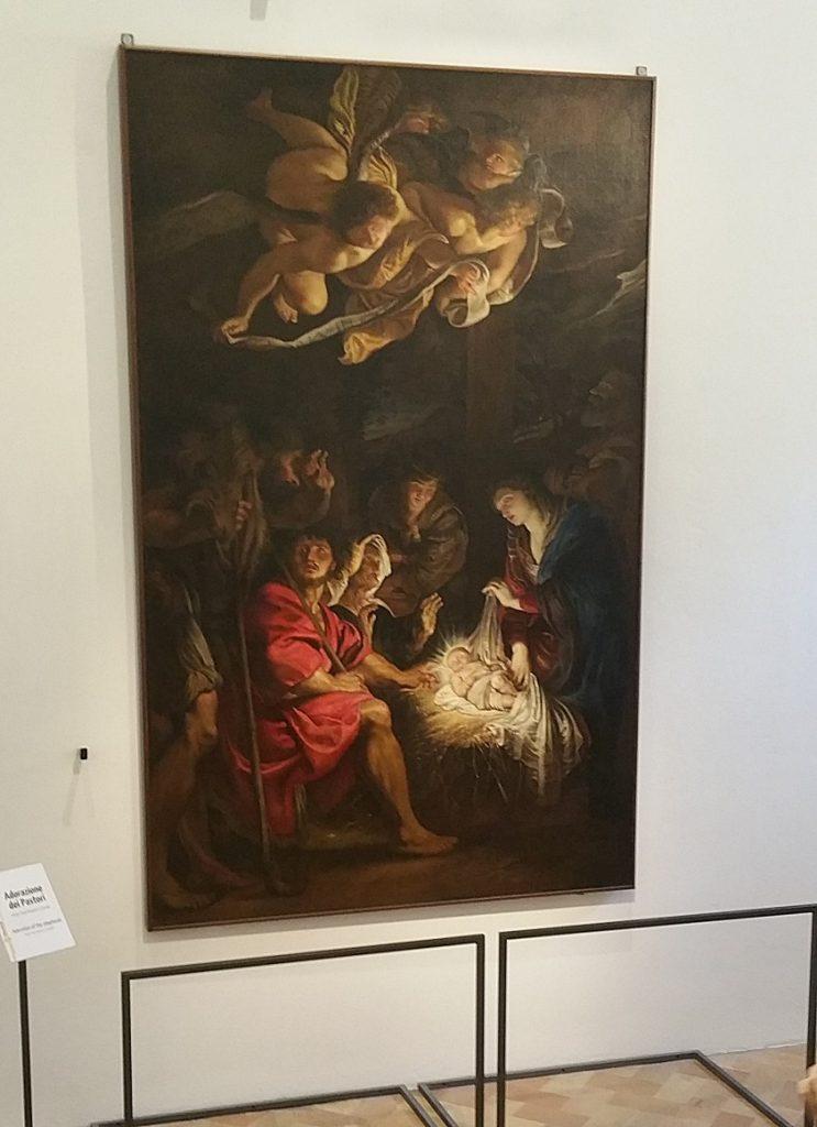 dipinto di Rubens, pinacoteca di Fermo