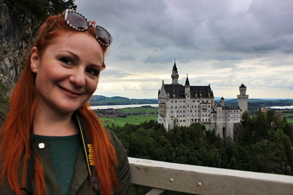viste sul castello di Neuschwanstein