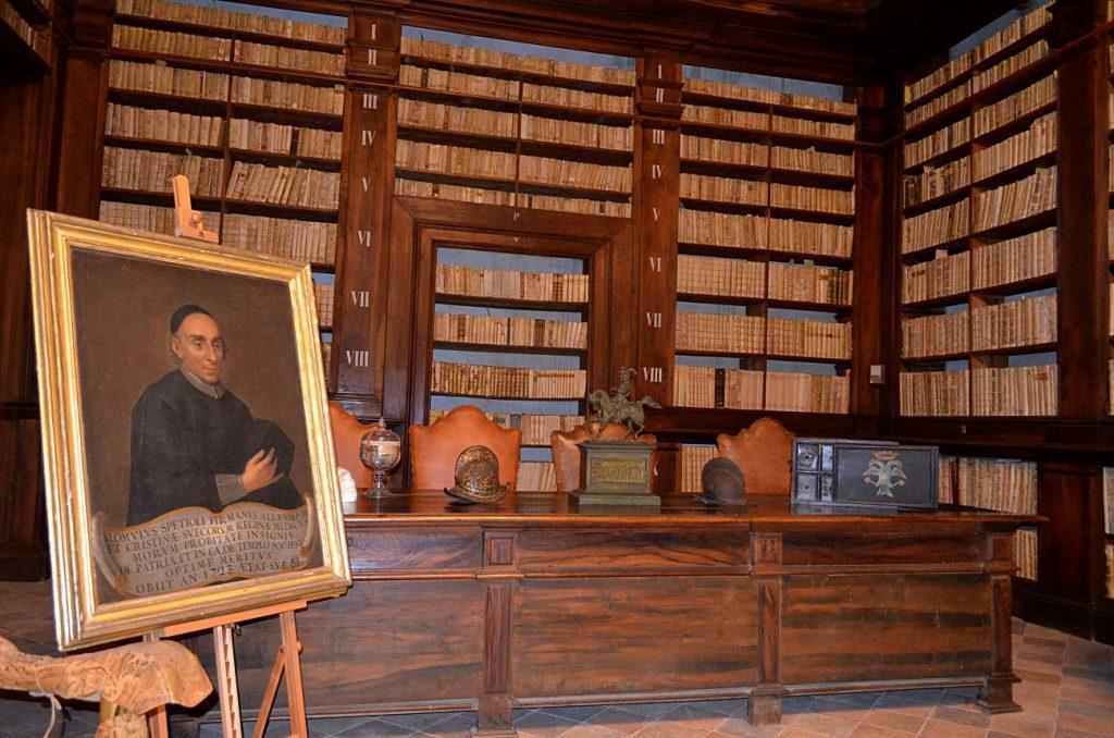 sala dal mappamondo, fermo musei