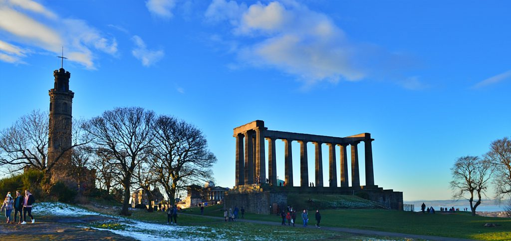 calton hill, national monument