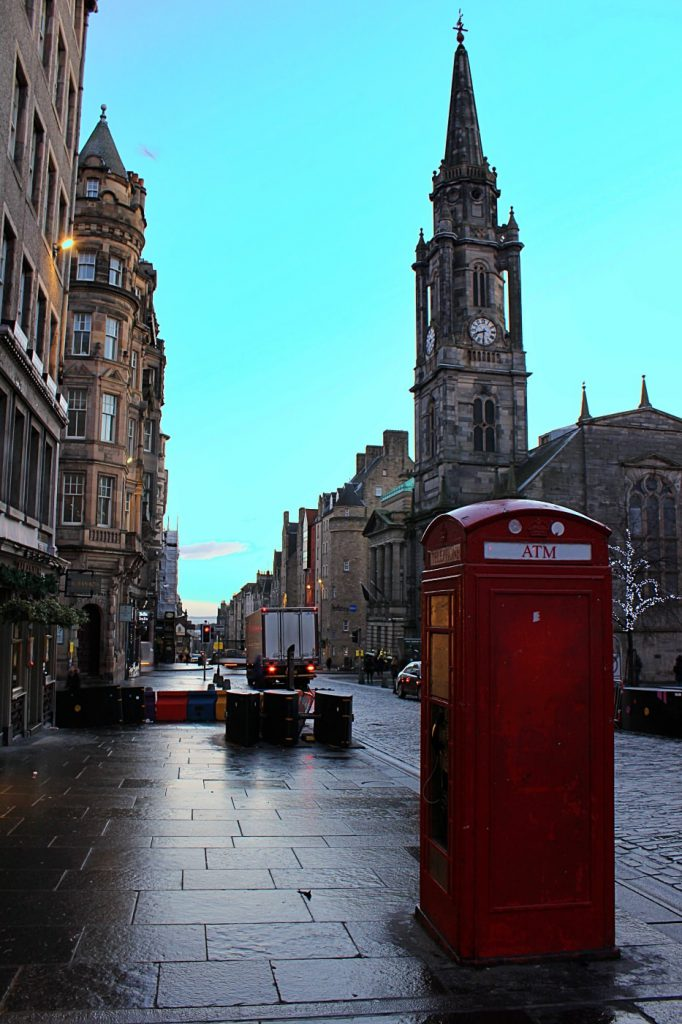 il royal mile di Edimburgo