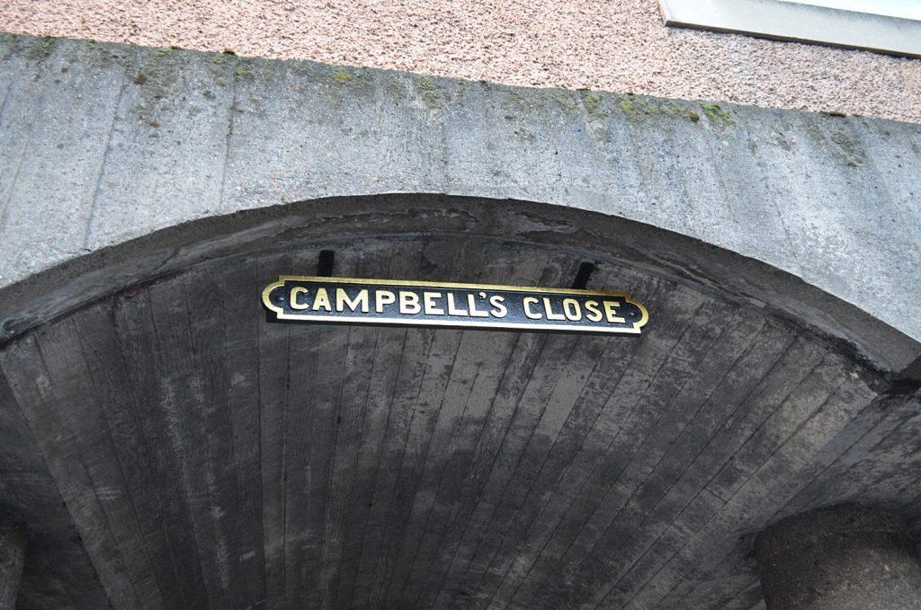campbell's close - edimburgo