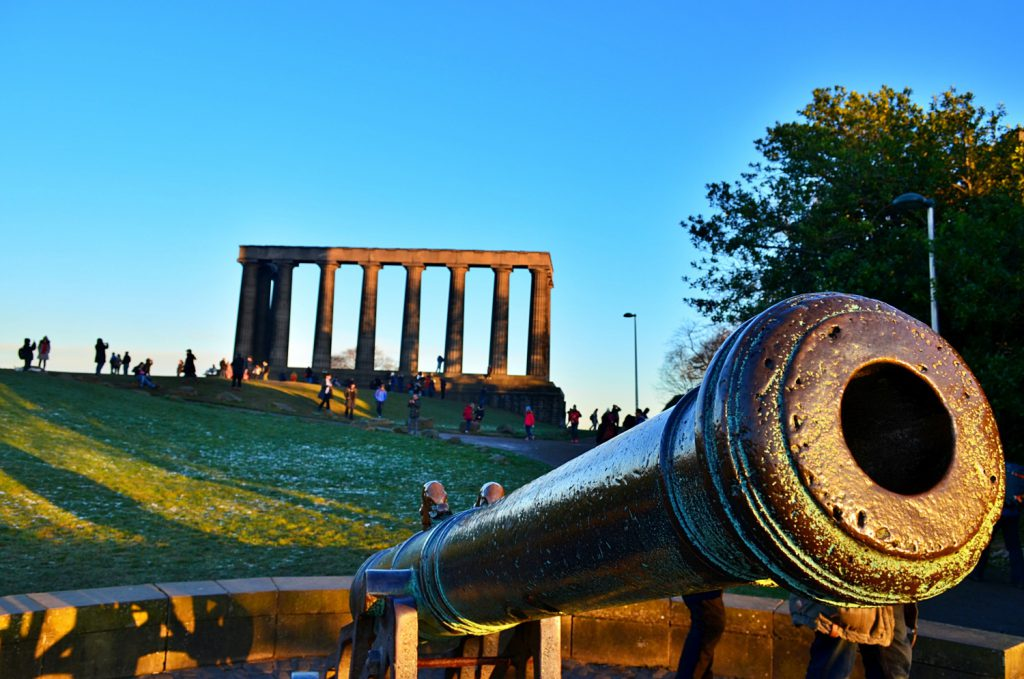 cannone e national monument, calton hill