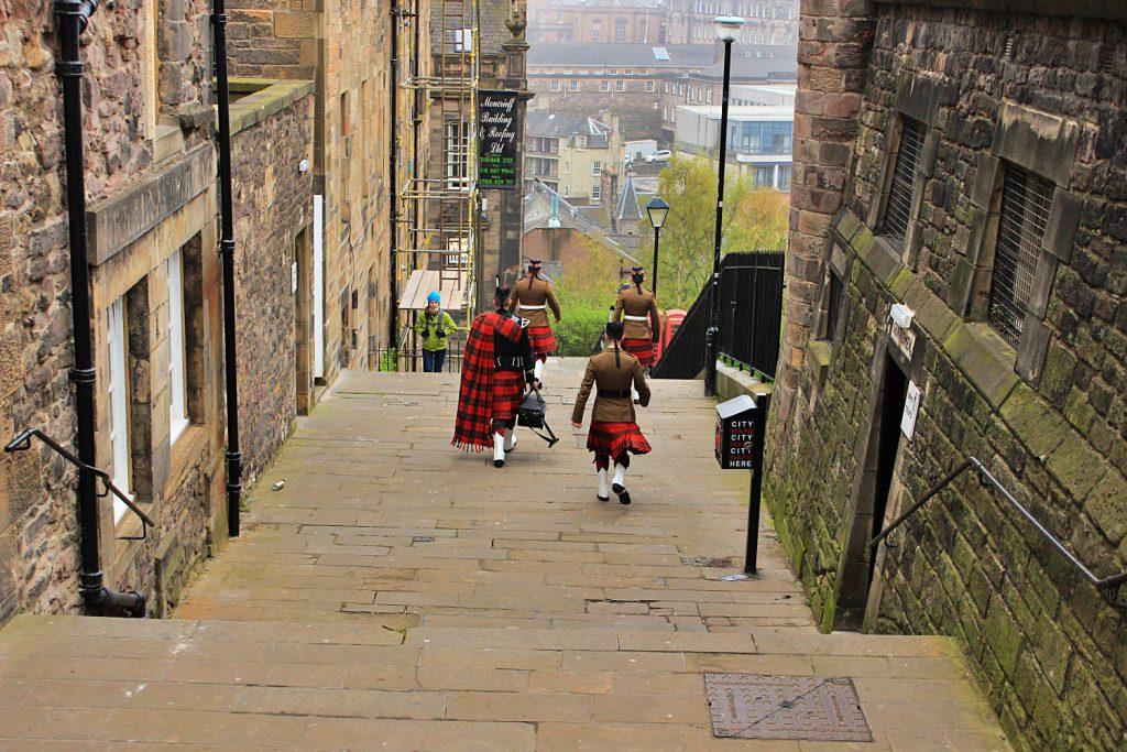 ll Royal Mile di Edimburgo