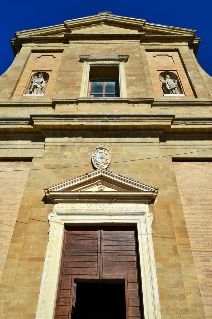 chiesa di san leonardo cupramontana