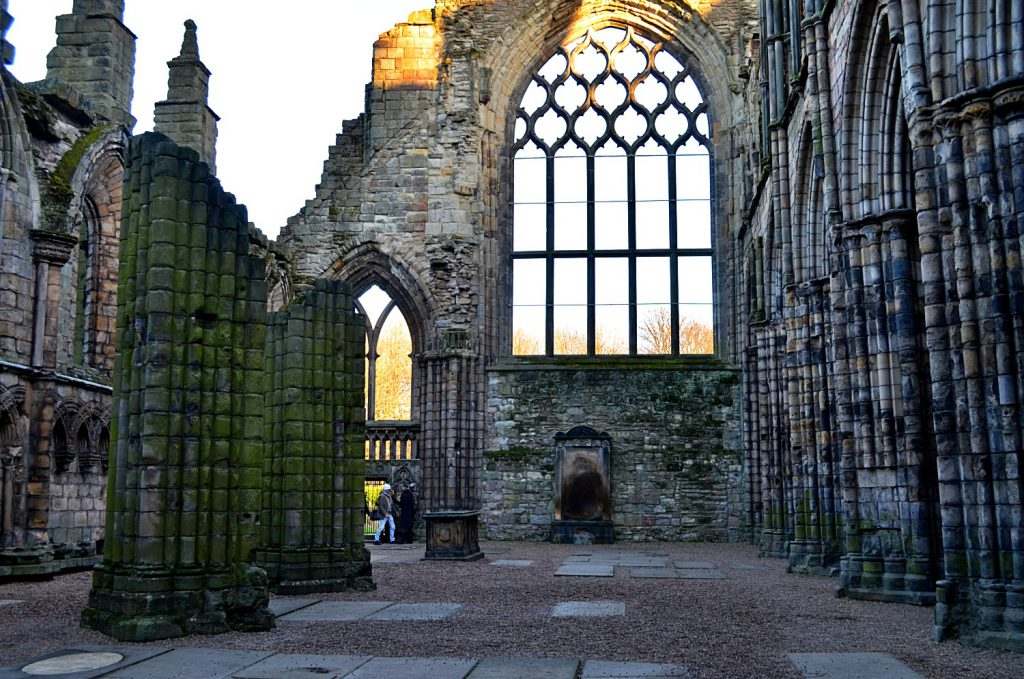 holyrood Abbey - old town edimburgo