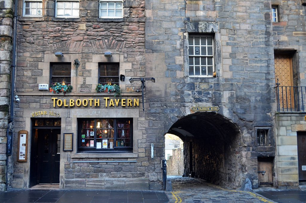 old tolbooth wynd, old town edimburgo