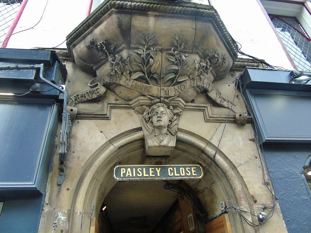 paisley close - Royal Mile di Edimburgo
