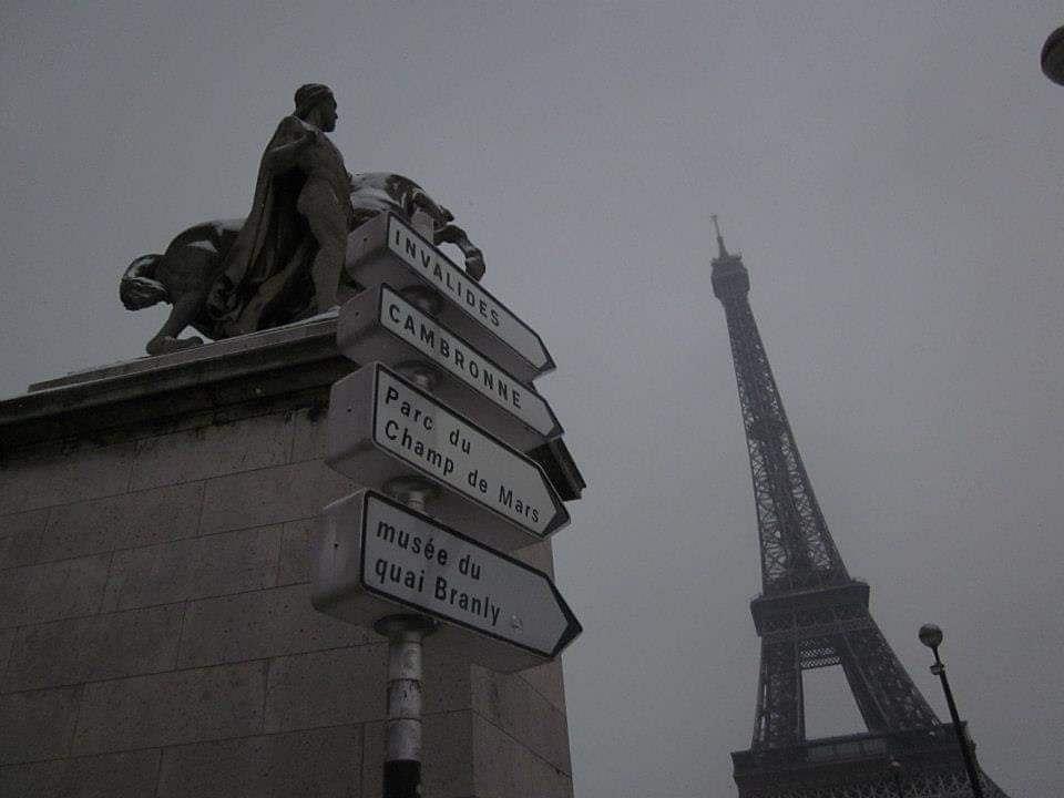 parigi e torre eiffel