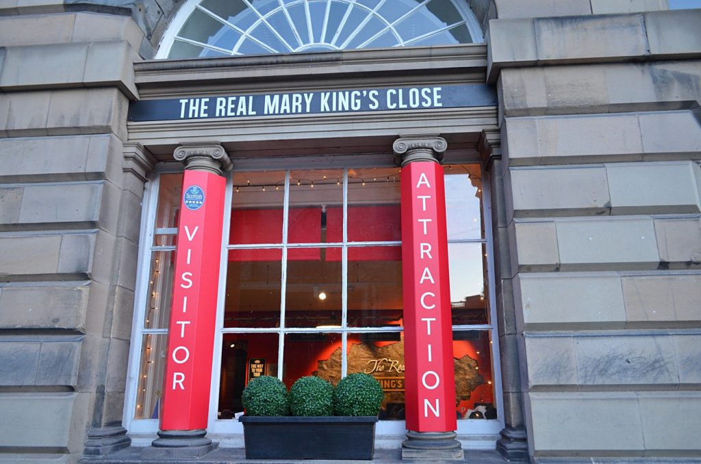mary king close - Royal Mile di Edimburgo