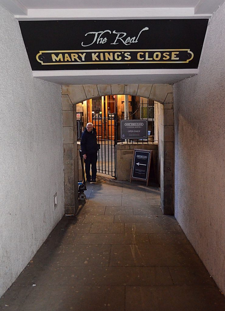 mary king close