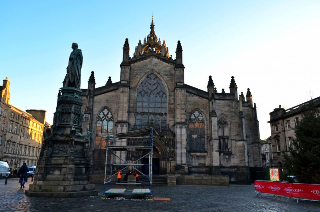 Royal Mile di Edimburgo, st giles cathedral - old town edimburgo
