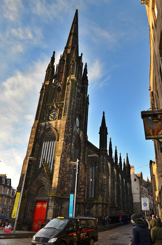 Royal Mile di Edimburgo, The Hub