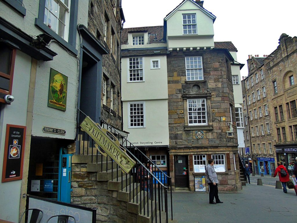 Moubray House, John Knox's House - Royal Mile Edimburgo