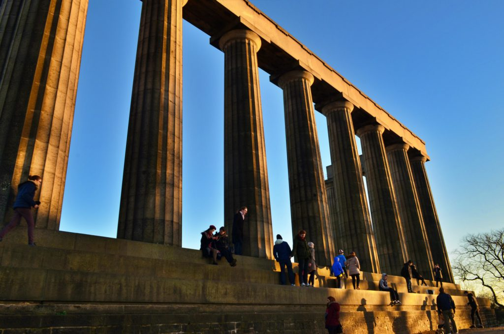 the national monumenti, calton hill