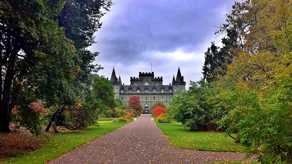 castelli infestati della scozia, inveraray castle