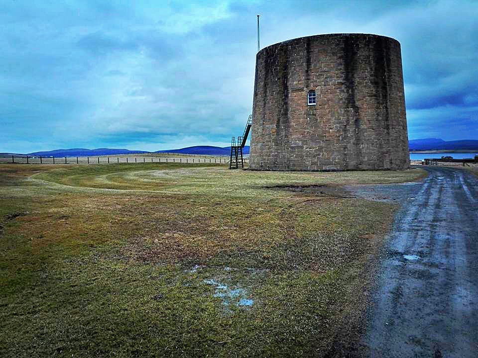 martello tower, isole orcadi