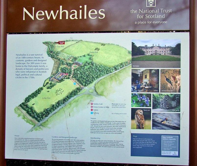 newhailes house & garden