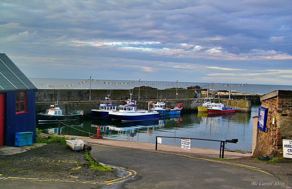 st abbs harbour, gita di un giorno da edimburgo