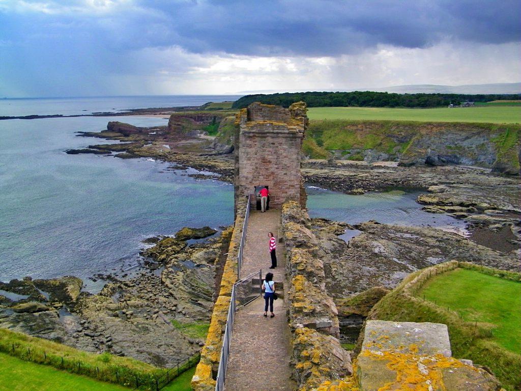 castelli infestati della Scozia, tantallon castle