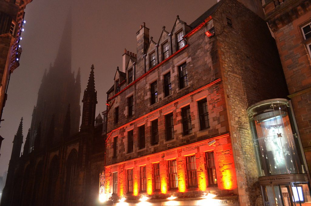 the witchery e the hub, visitare Edimburgo a Natale