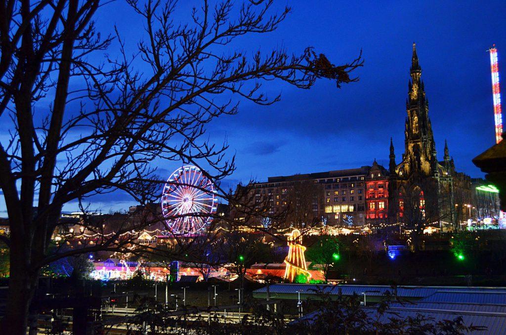 visitare Edimburgo a Natale