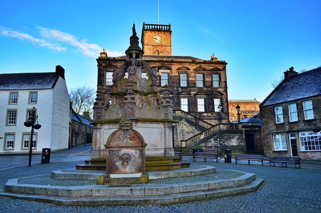 Linlithgow, tour virtuale della Scozia