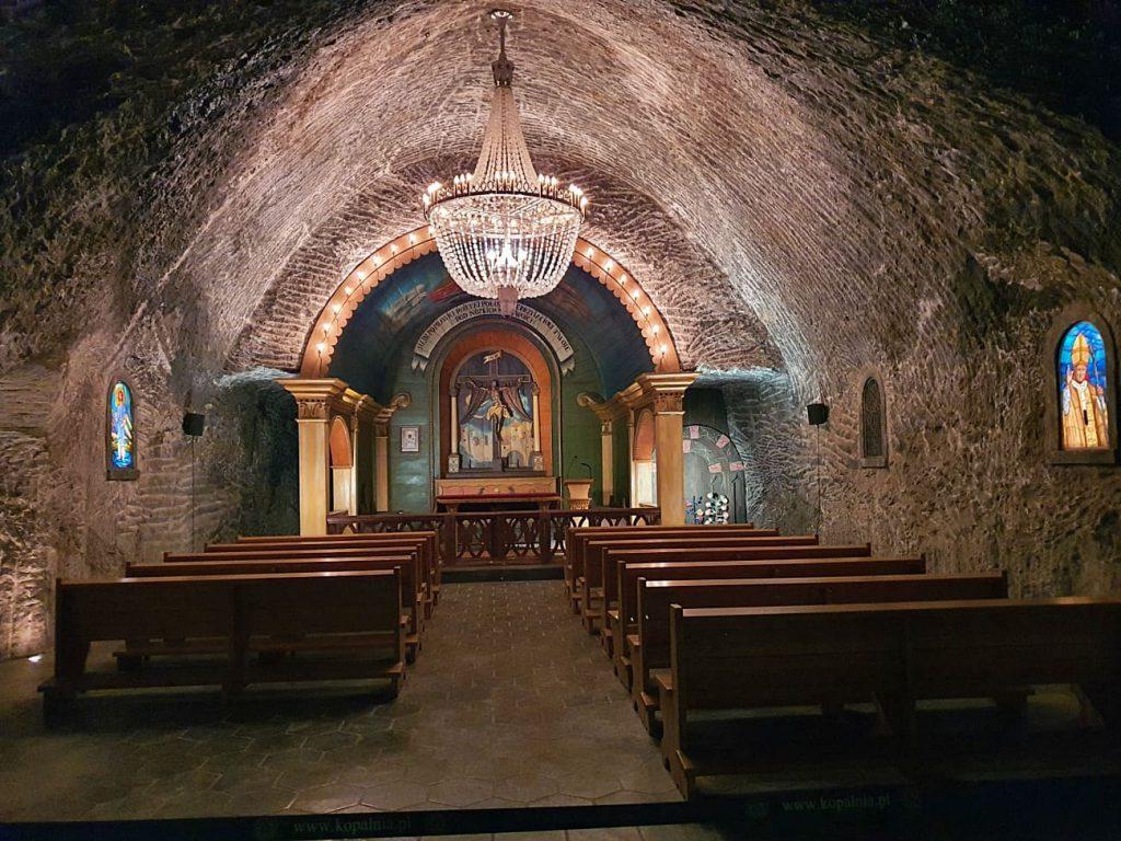 cappella dentro la miniera