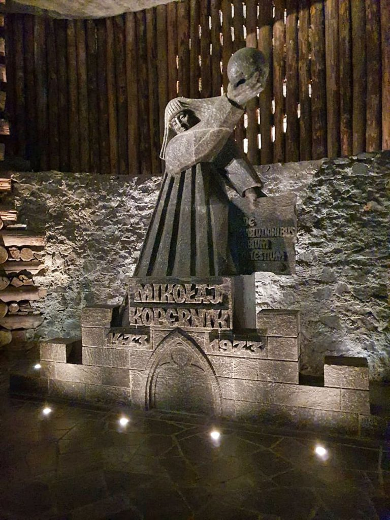 statue di sale miniera di sale di Wieliczka