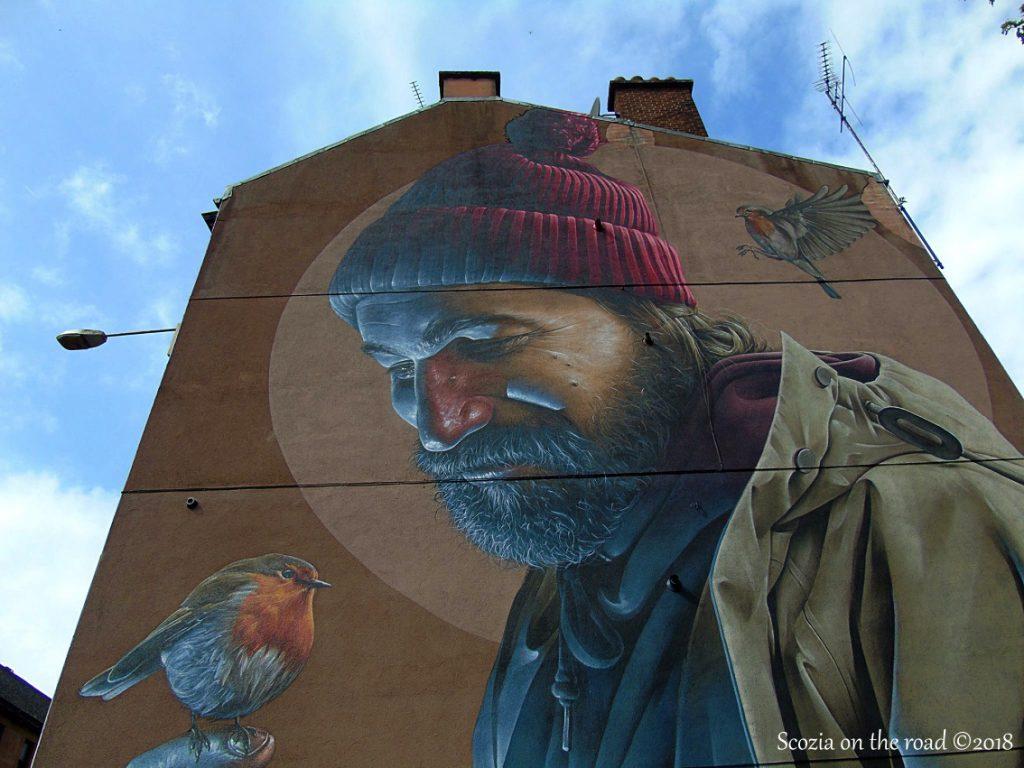 glasgow, murale St Mungo