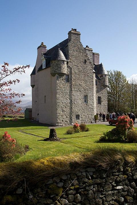 barcandine castle